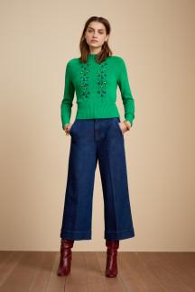 Pantalon Culotte Lisa Golden Denim