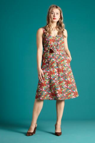 Ines V-Neck Dress Salina