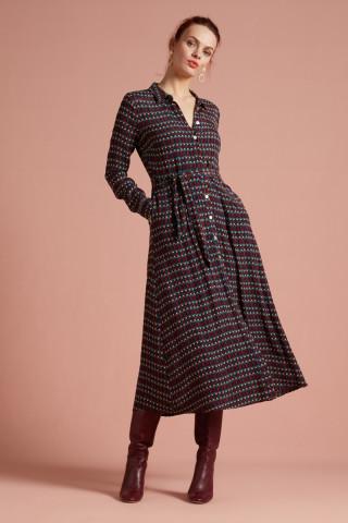 Robe Midi Rosie Pompidou