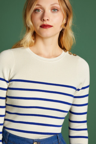 Pull Col Rond Capanne