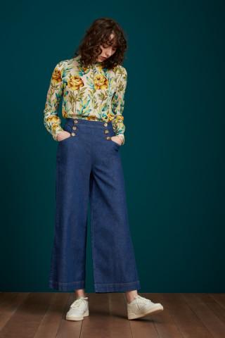 Pantalon Sheila Chambray