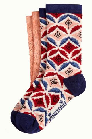 Socks 2-Pack Medaillon