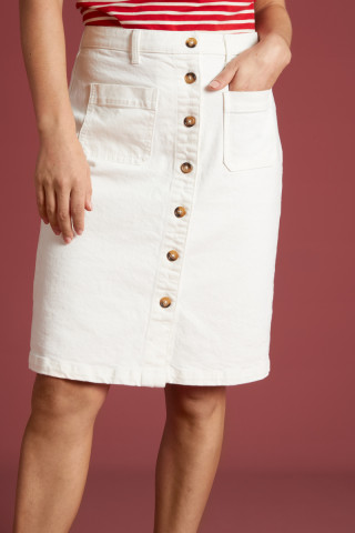 Angie Pocket Skirt Sweet Denim