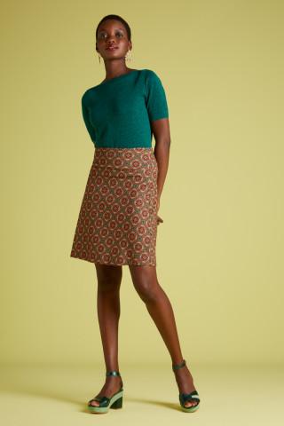Border Skirt Morada