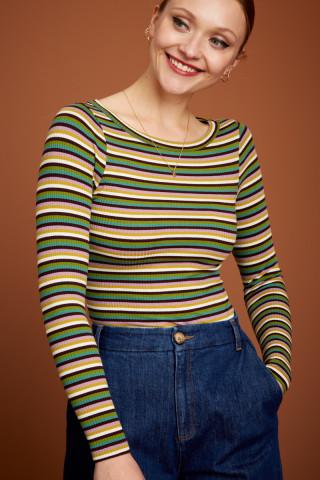 Top Lily Jardin Stripe
